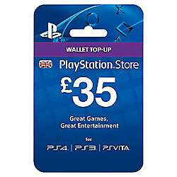 £35 PSN Wallet Card for £30.23 // £35 XBox Topup for £30 @ Tesco Direct