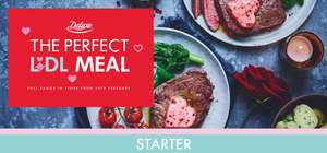 Lidl Valentine's Meal for 2 from £7.76 includes Starter, Main, Side, Dessert + Other Offers @ Lidl
