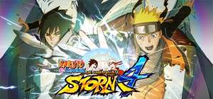 PC : NARUTO SHIPPUDEN: Ultimate Ninja STORM 4 (75 % discount usually £24.99 Direct with Steam)