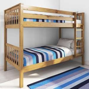 Oxford Pine Bunk Bed £139.97 Del @ Furniture123