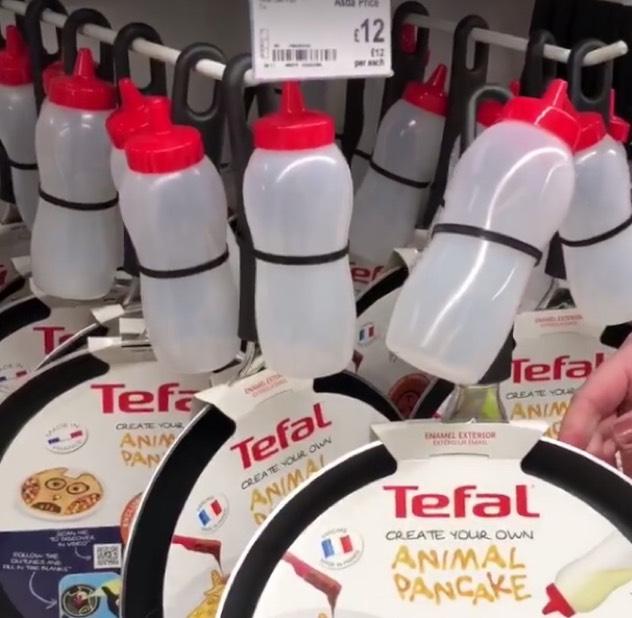 Tefal Non-stick Unicorn 25cm Pancake Pan Bundle £12 instore at Asda
