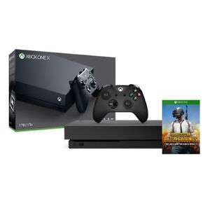Xbox One X 1TB + Player Unknowns Battlegrounds £342.90 @ Microsoft Ireland/Nokeys