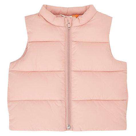 John Lewis Baby Gilet, Pink £9 + £2 C+C