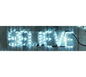 HOME Believe LED Rope Lights - Bright White £8.99 was £39.99