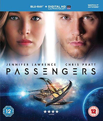 Passengers Blu Ray £5.32 Prime at Amazon (£7.31 non-Prime)