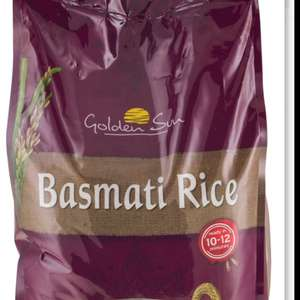 Golden Sun Basmati Rice 10kg £9.99 instore at Lidl