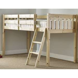 Bristol Cabin Bunk Bed solid pine,single and small single,121.99 delivered @ Wayfair