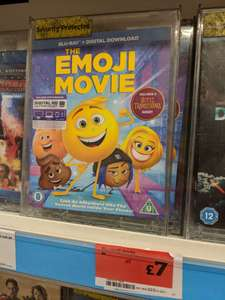 Emoji Movie Blu Ray £7 instore @ Sainsbury's