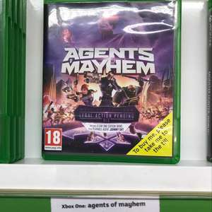 Agents of mayhem PS4/ Xbox One - £5 instore @ Sainsbury's (Fallowfield, possibly National)