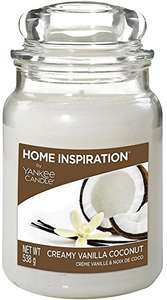 Official YANKEE Home Inspiration Candles instore @ Tesco 3 for 2