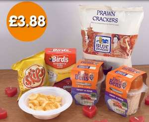B+m valentine meal deal £3.88