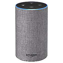 Amazon Echo Heather Grey for £65.98 C & C using code and purchasing 2x sim cards at Tesco Direct