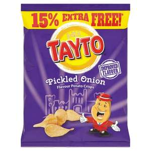 Tayto Crisps 37.5g Bags 5 for £1 @ Home Bargains