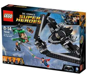 Lego 76046 DC super heroes of justice skyhigh battle was £54.99 now £36.99 with code £31.99 @ argos