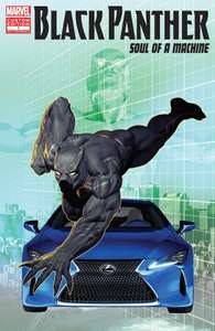 Black Panther  - Soul of a Machine digital comic - Free on Amazon Kindle