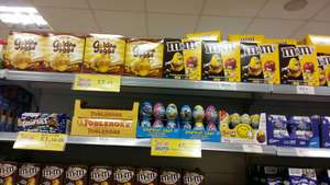 Various large easter eggs £2.49 @ Home Bargains (Ellesmere Port)