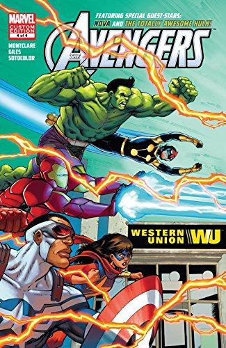 Avengers Ft. Hulk & Nova (2016) (4 Book Series) Free on AmazonUK - Kindle & comiXology