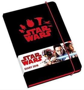 Star Wars 2018 premium diary £1 plus £1 postage from forbidden planet
