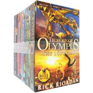 Heroes of Olympus - 5 Book Collection by Rick Riordan £15 click & collect or £17.99 delivery @ The Works
