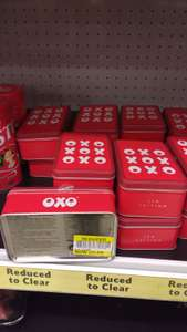 OXO limited edition retro tins with 18 stock cubs - 50p instore @ Tesco (Lurgan)