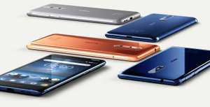"Nokia 8 in ""Tempered Blue"" Color for £269 (Refurbished A1 Pristine) @ Laptops Direct"