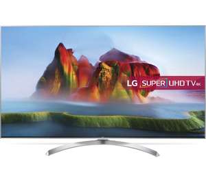 "LG 55SJ810V 55"" Smart 4K Ultra HD HDR LED TV - £729 (with code) @ Currys"