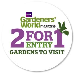 Annual 2 for 1 Gardens to Visit Card & Guide (valid to April 2019) FREE with £4.75 May Gardeners' World magazine - but get that and 4 other copies for £5 in total here