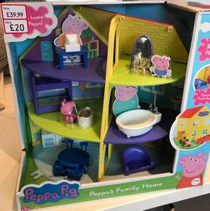 Peppa Pig's Family Home Playset - £20 @ Mothercare Anniesland, Glasgow INSTORE