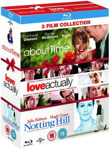 Romantic Comedy Blu-Ray Boxset: About Time/Love Actually/Notting Hill £7.20 delivered @ Zoom