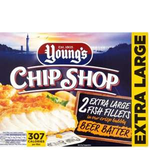 Young's beer battered fish £1.00 farmfoods