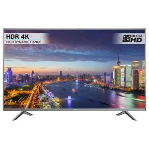 "Hisense H45N5750 LED HDR 4K Ultra HD Smart TV, 45"" with Freeview Play, Silver £364 @ John Lewis"