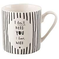 I dont need you, I have Wifi Mug 75p @ ASDA/George