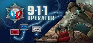 911 Operator (PC) £5.99 @ Steam (First Responce DLC Free / Collectors Edition £7.69)