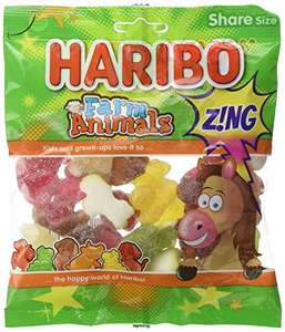 Haribo Farm Animals Zing Sweets, 180 g, Pack of 12 Amazon ADD ON ITEM