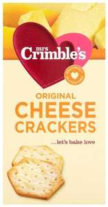 Mrs Crimble's Cheese Crackers 130 g (Pack of 6) Amazon ADD ON ITEM