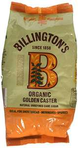 Billingtons Organic Natural Caster 500 g (Pack of 5) - £2.39 @ Amazon (Add on Item)