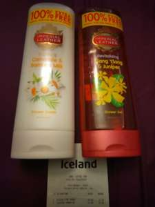 Imperial Leather 500 ml shower cream or gel £1 Iceland instore and online