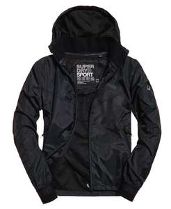 Mens Superdry Sport Stormbreaker Jacket Black £23.99 + Free Delivery @ Ebay - Superdry