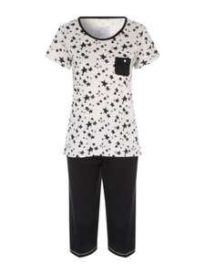 Women's star print pyjamas , LOW STOCK £3 @ peacocks,free,c+c