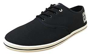 Henleys Men's Stash Canvas Trainers Navy - £4.95 + £3.99 Del - Sold and Despatched by The Fashion House via Amazon