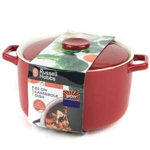 Russell Hobbs Casserole Dish 21cm  £1 @ B&M - Instore - nation wide