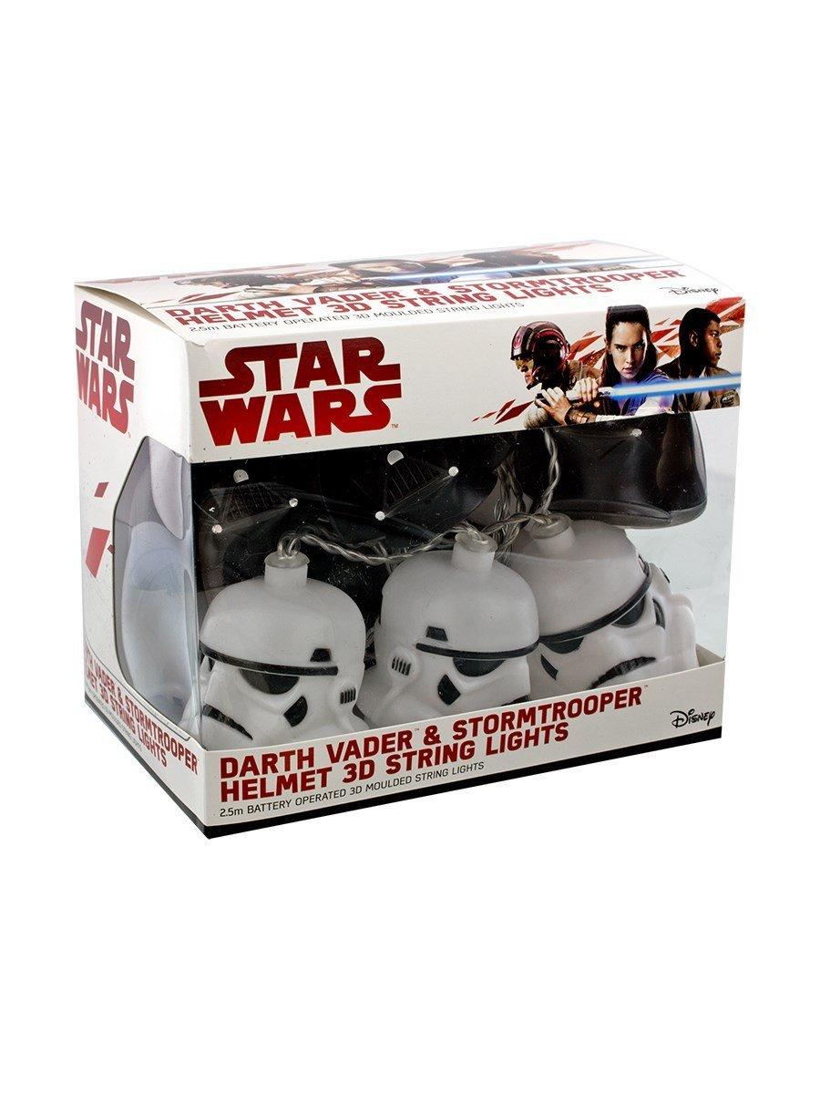 Star Wars Darth Vader & Stormtrooper Mixed 3D String Lights £7.99 delivered @ Internet Gift Store