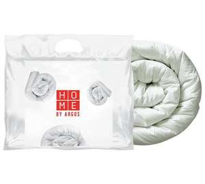 HOME Duck Feather 13.5 Tog Duvet - Single, also Double, Kingsize and Super king - Starting @ £15.99 (Free C&C) @ Argos