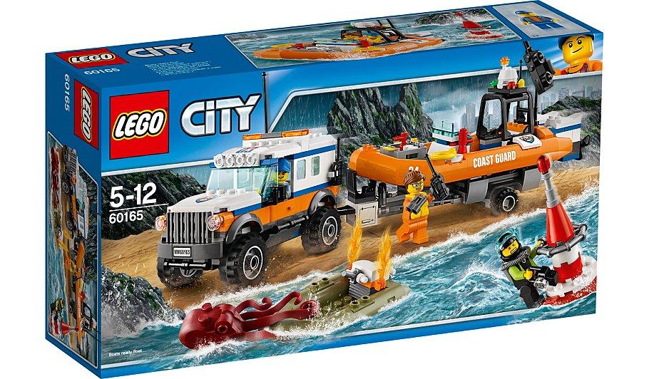 LEGO City - 4 x 4 Response Unit - 60165 (instore Asda Forfar) £5
