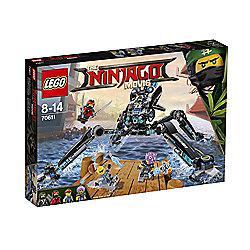 lego ninjago movie water strider 70611 - £20 instore @ craigavon tesco
