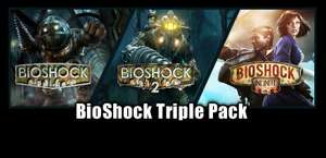 BioShock Triple Pack Steam Key - £8.49 @ Gamesplanet