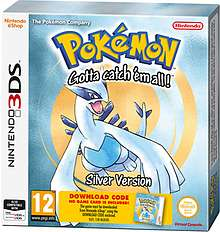 Pokemon Silver/Gold £6.99 (3DS) code in a box @ Game