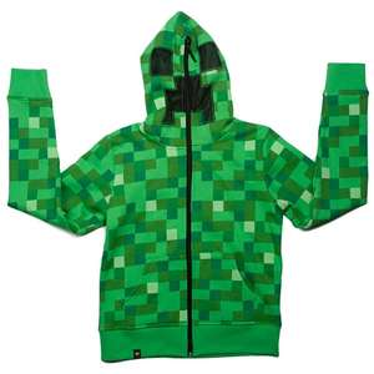 Minecraft Creeper Hoodie @ Argos (C&C) £16.66
