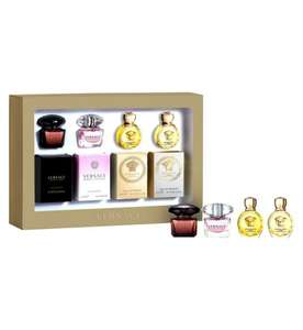 Versace Ladies' Or Mens' 4 x 5ml Miniatures Gift Set - Exclusive to Boots, £13.75 (Click And Collect To Store)