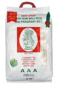Jasmine rice 10kg sack £10 at asda in store